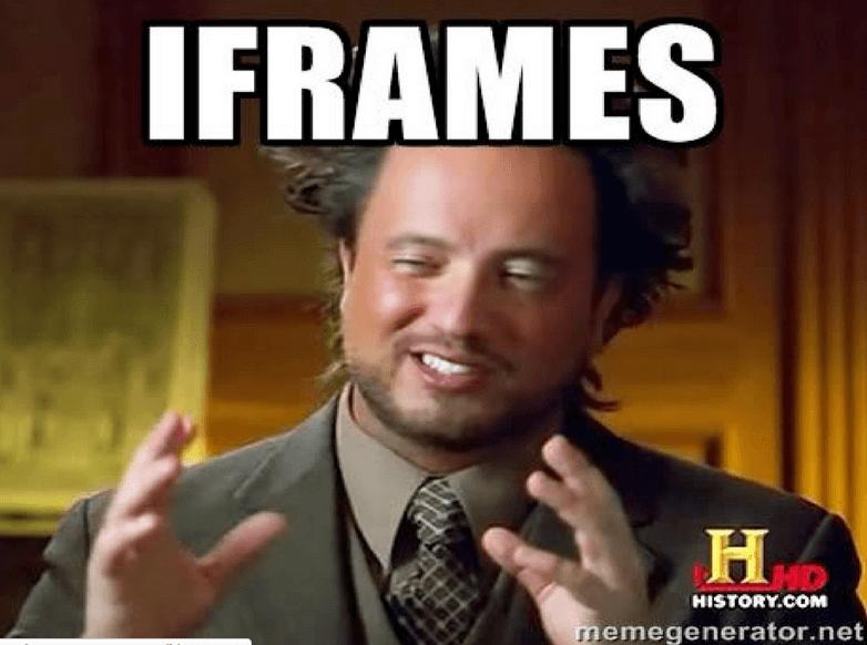 Imagem do post com o título: O nosso amigo iFrame - 7Masters 2013