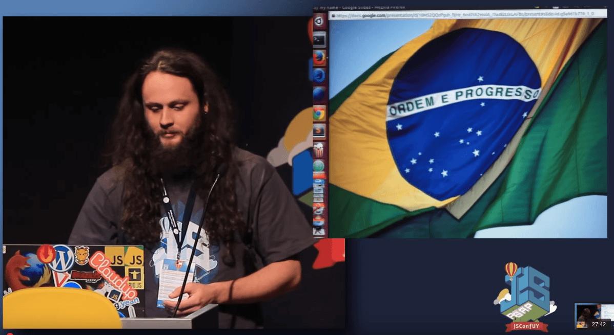 Imagem do post com o título: Say my name - Palestra na JSConf Uruguai