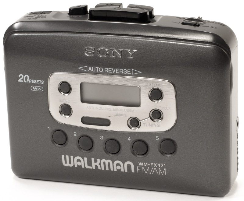 Saudade do meu Walkman