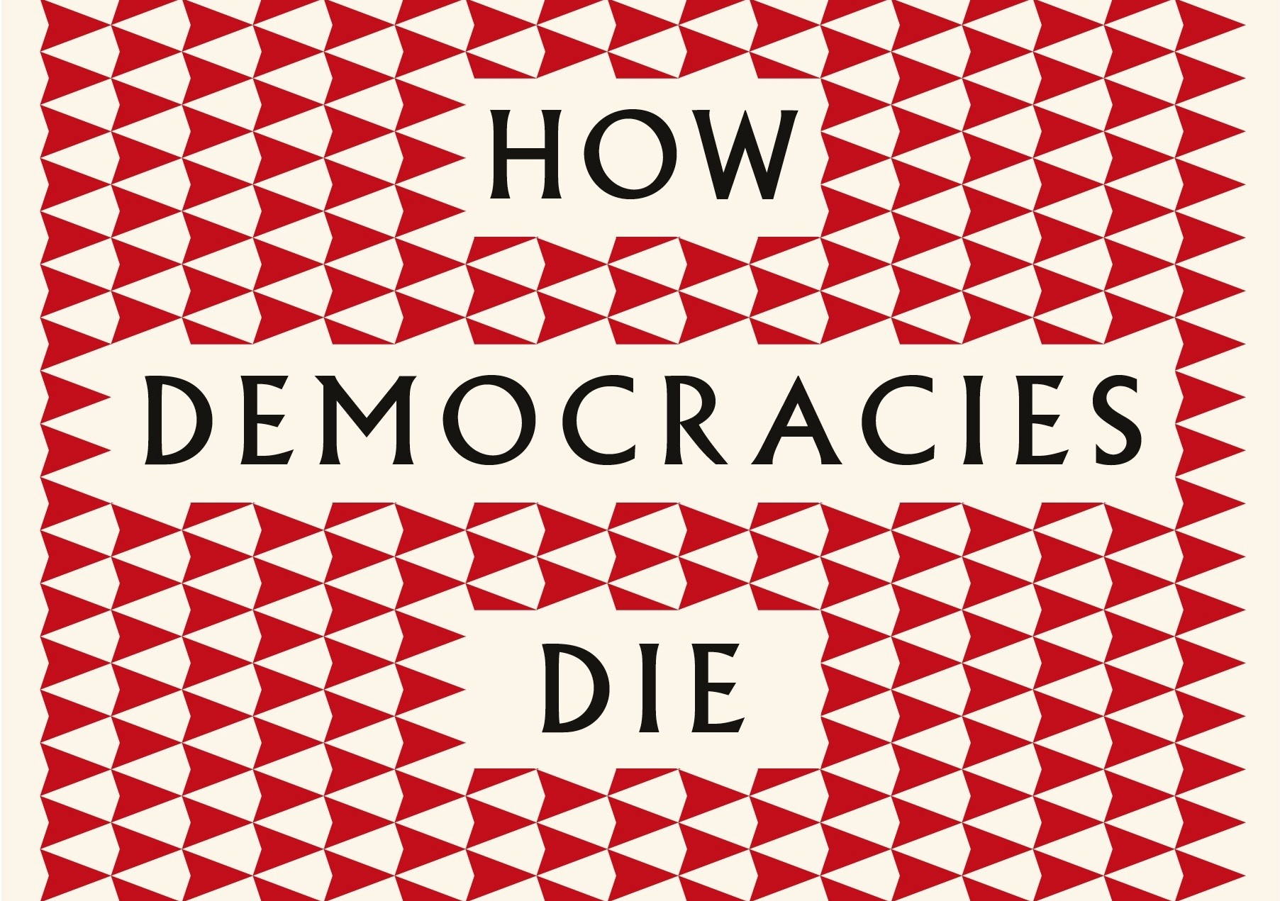 """Book cover """"How democracies die"""""""