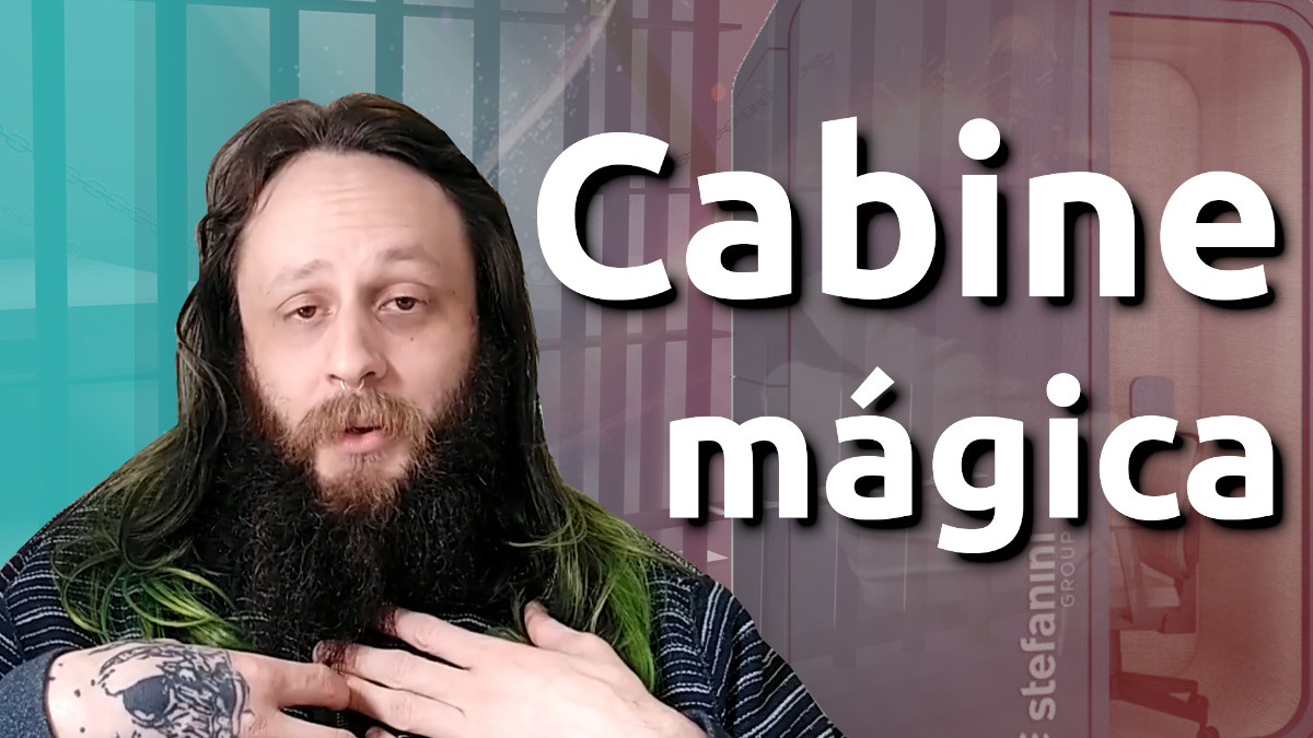 Imagem do post com o título: A cabine mágica