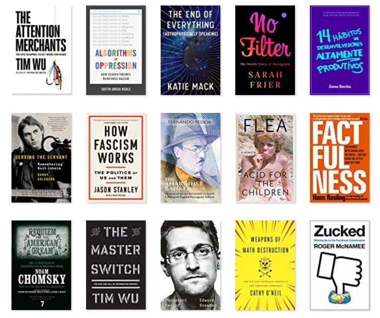 Imagem do post com o título: Como atingi minha meta de leitura em 2020